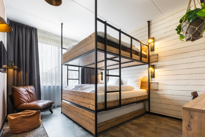 6 Person Bunkbed Guesthouse Hotel HDVL