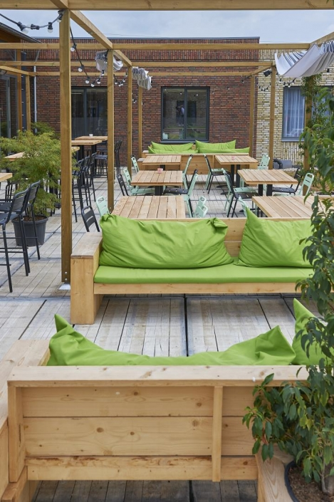 Rooftop Terrace Guesthouse Hotel HDVL