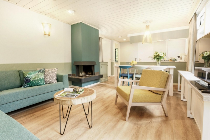Center Parcs - Premium Cottage - Livingroom - HDVL