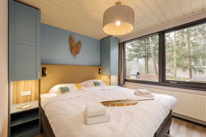 Center Parcs - VIP Cottage - Bedroom - HDVL