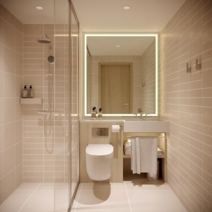 Courtyard by Marriott - Bathroom - HDVL DESIGNMAKERS