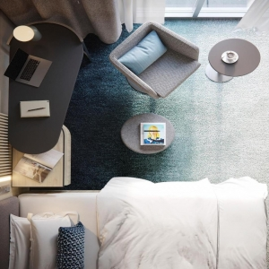 Courtyard by Marriott - Guest Room 01 - HDVL DESIGNMAKERS