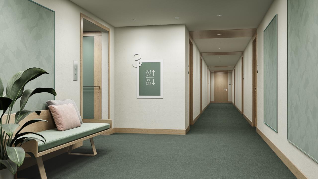 RIBM Altona Harburg - Corridors - HDVL DESIGNMAKERS